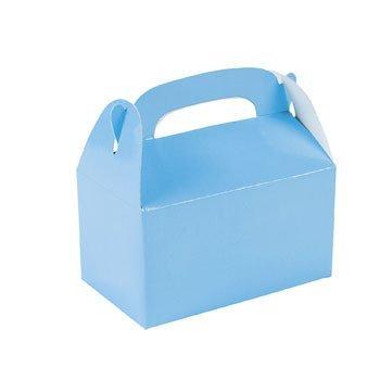 24 Mini Blue Treat Boxes