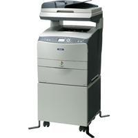 Epson AcuLaser CX21NFC Farblaser Multifunktionsgerät (4 in 1, Drucken, Kopieren, Scannen, Faxen)