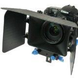 CowboyStudio DSLR Matte Box for 15mm Rail Rod Support follow focus System D90 5D 60D 600D