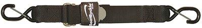BoatBuckle Pro Series Kwik-Lok Gunwale Tie-Down (2-Inch x 20-Feet, Black)