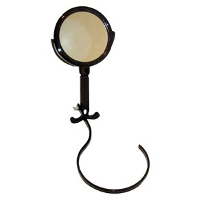 Around The Neck Mirror, Regular And 3x Viewing, * Black Color Frame