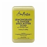 SheaMoisture Lemongrass & Ginger Shea Butter Soap - 8 oz
