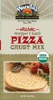 Organic Oregano Basil Pizza Crust Mix