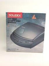 Solidex Vhs Video Cassette 2-Way Rewinder