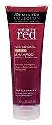 John Frieda Radiant Red Color Captivating Daily Shampoo with Light Enhancers 8.45 fl oz (250 ml)