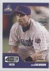 Greg Colbrunn Arizona Diamondbacks (Baseball Card) 2002 Upper Deck 40 Man #657
