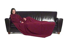 Slanket Blanket with Sleeves - Slanket Blanket Ruby Wine