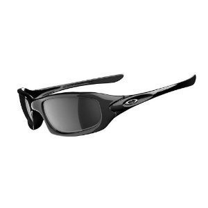 Oakley Fives Polished Black Frame With Black Iridium Lenses Sunglasses