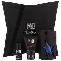 Thierry Mugler A*Men Refillable Eau de Toilette Spray 100ml, Hair and Body Shampoo 50ml and Deodorant Stick 20ml