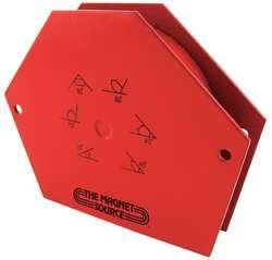 Industrial Grade 10E755 Protractor Welding Angle, Mag, 4-3/4x3-1/2