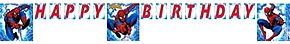 Spiderman Letter Banner 8ft - 1