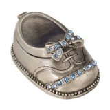 Fei Gifts Baby Boy Shoe Trinket Box
