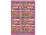 "Joy Carpets Playful Patterns Children's My Little Princess Area Rug, Pink, 3'10"" x 5'4"" - 1"