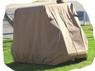 Champion 4 Passenger Golf Cart Cover Sand