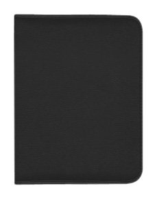 Hip Street Leather Executive Case for iPad 2 (HS-IPADCASE-E1BK)