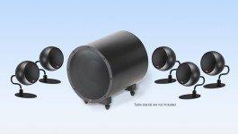 5.1 Micro System-Black / Black