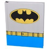 Silver Buffalo BN0150 DC Comics Batman Uniform Hard Cover Journal with Ribbon Book Mark, 160-Pages, 6 in. x 8 in