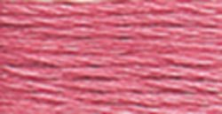 DMC Pearl Cotton Skeins Size 5 27.3 Yards Medium Rose 115 5-899; 12 Items/Order