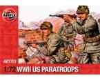 Set Of 3 1:76 Scale Airfix Military/ Fiction Figure Kits Picked Totally At Random