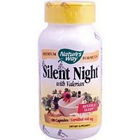 Nature's Way Silent Night, 100 Capsules (Pack of 2)