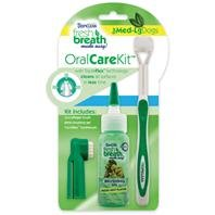 Tropiclean Fresh Breath Plaque Remover Pet Oral Care Kit, Large