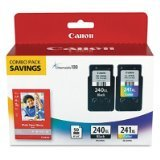 Canon Office Products PG-240XL/CL-241XL with Canon GP502 Glossy Photo Paper - Combo Pack Ink ~ Canon
