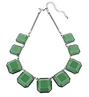 Per Una Cube Stone Collar Necklace