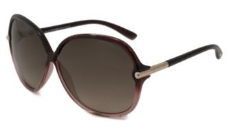 Tom Ford 0224 71t Red Islay Butterfly Sunglasses