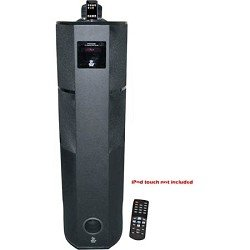 Pyle PHST92IBK 600 Watt Digital 2.1 Channel Home Theater Tower with iPod and iPhone Docking Station from Sound Around