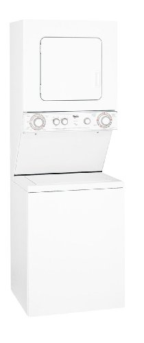 Whirlpool LTG5243DQ 4.9 Cu. Ft. White Gas Washer/Dryer Combo