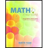 Math in our world (Contemporary Mathematics)