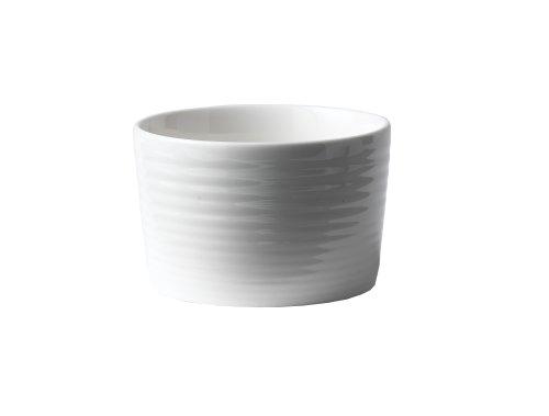 Gordon Ramsay by Royal Doulton White Porcelain 9-1/2-Ounce Ramekins, Set of 4