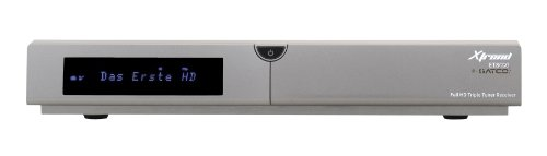 Xtrend ET 8000 HD TV Hybrid Tuner Receiver (DVB-S2/-C/-T2, Full HD, Linux, PVR Ready, HbbTV)