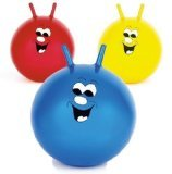 "20"" Jump n Bounce Space Hopper Retro Ball Outdoor Toy Blue Red or Yellow"