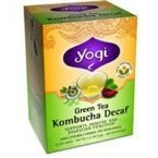 Yogi Tea, Green Tea Kombucha Decaf, 16 Tea Bags, 1.12 Oz (32 G) By Yogi Tea