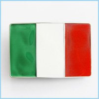 NEW Cool Fashion Italian Flag Emblem Belt Buckle Fg-001