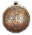 Magical Medieval Fortune Charm for Winning a Lover's Heart Talisman Charm Amulet on a Leather Thong (MA35)