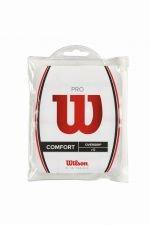 Wilson Griffband Pro Overgrip 12 Pack, Weiß, WRZ477700