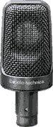 Audio-Technica Ae3000 Large-Diaphragm Side-Address Cardioid Condenser Instrument Microphone