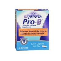 Rephresh Rephresh Pro-B Probiotic Feminine Supplement, 30 caps (Pack of 3)
