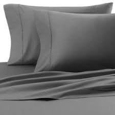 600 Tc 4 Pc King Size Attached Waterbed Sheet Solid Grey By Jay'S Home Goods front-1038392
