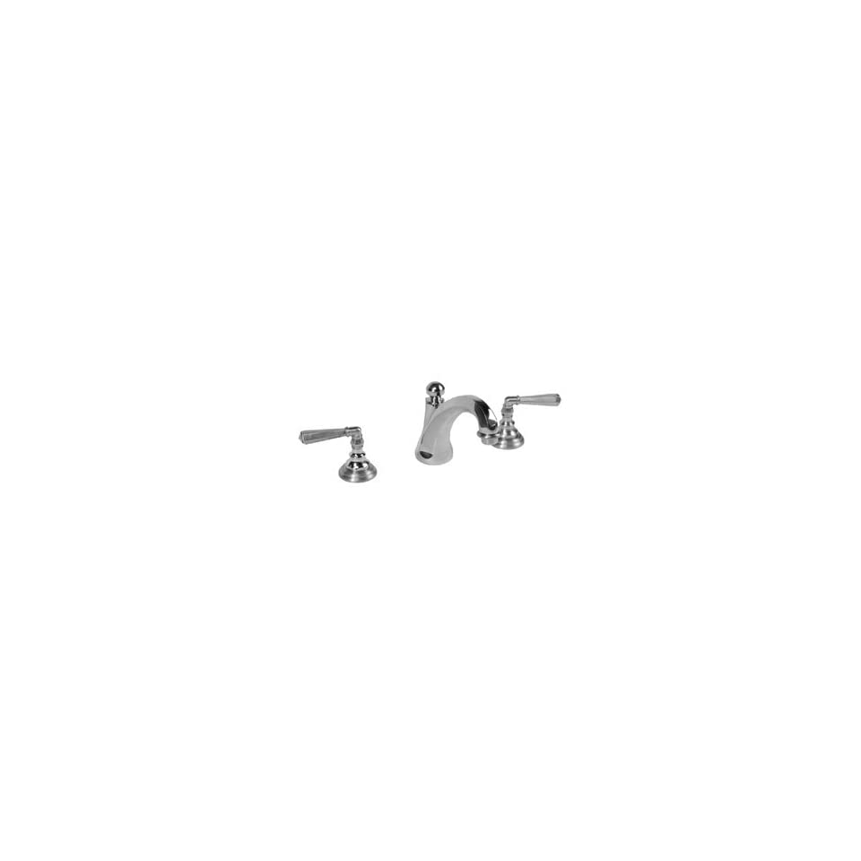 Legacy Brass 3401UB UB Uncoated Polished Brass Bathroom Sink Faucets 8Widespread Lever Lav Faucet