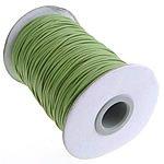 Angel Malone 5mtrs x 1mm Green Superior Korean Wax Cord Perfect 4 Shamballa