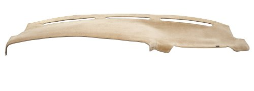 DashMat VelourMat Dashboard Cover Lexus LS400 (Plush Velour, Beige)
