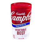 Campbells® Soup At Hand® Vegetable Beef Soup; 10.75 Oz., 12/Pk