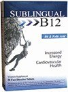 Sublingual B12 B6 And Folic Acid