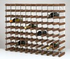 90 Bottle Wine Rack Kit - Dark Stained Oak