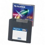 Fuji® IBM/Mac Compatible Zip Disk, 100MB