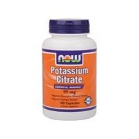 Now Foods Potassium Citrate  99 mg  Capsules, 180-Count