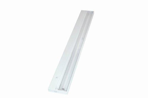 Juno Lighting UPF34-WH Pro-Series Fluorescent Under cabinet Fixture, 34-Inch, 6-Lamp (Designer White)